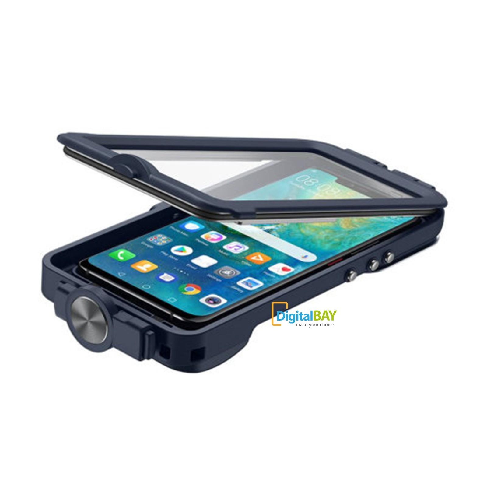 Custodia Cover Waterproof Snorkeling Case Originale Huawei Blu Per ...