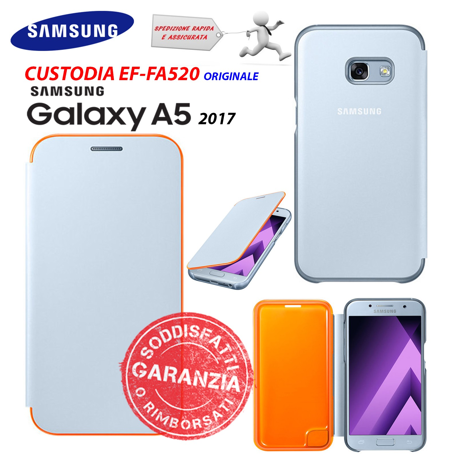 custodia originale samsung galaxy a5 2017