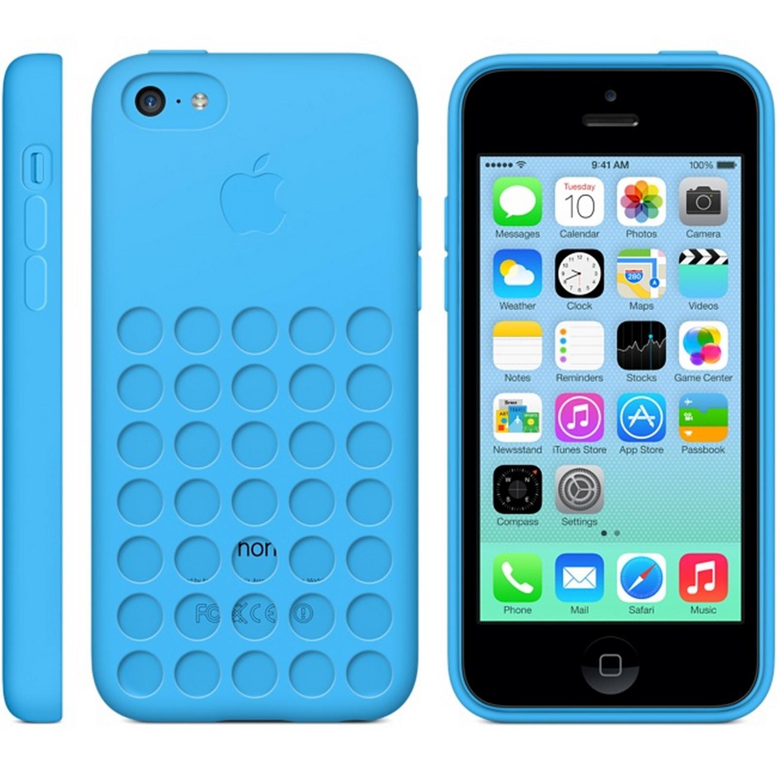 custodia iphone 5c blu
