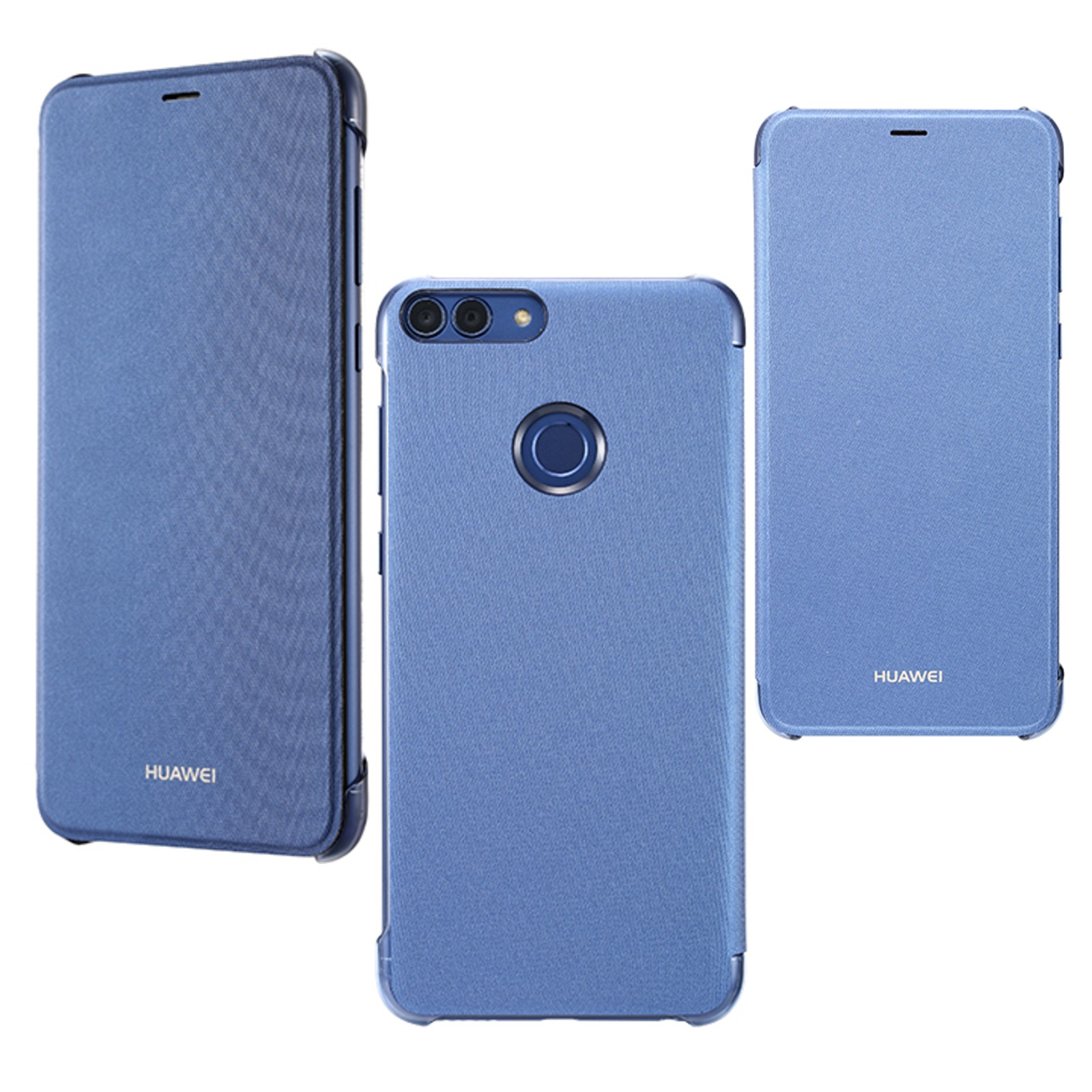 custodia blu huawei p smart originale