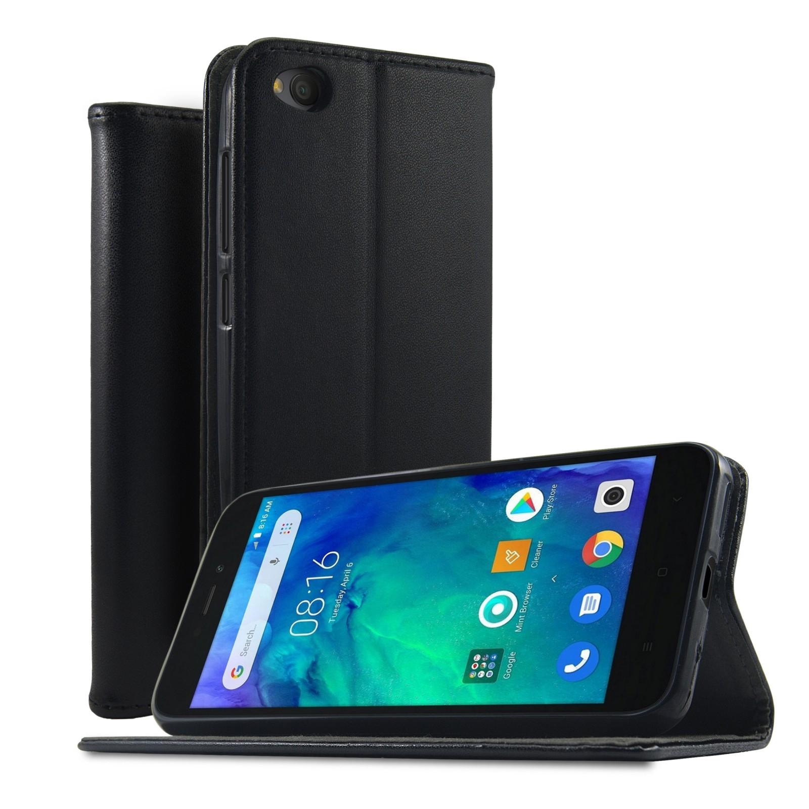 Xiaomi Redmi Pro Custodia Cover per Cellulare Protettiva Flip Blu
